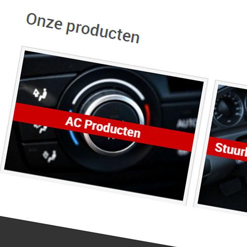 Produkt slider